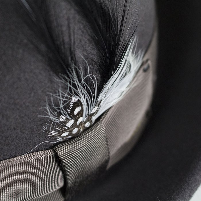 1b6911b0 Bailey Hats Tino Crushable Trilby - Basalt | The Hat Place