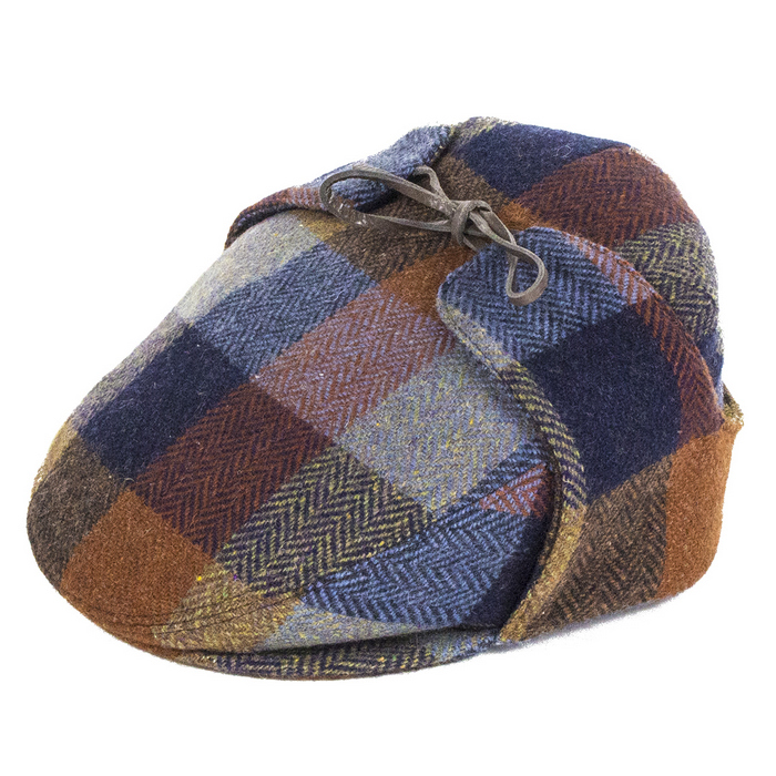 City Sport Caps Donegal Tweed Luxury Flat Cap with Earflaps 589e29c63ce