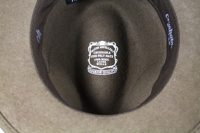 fbd7796a City Sport Hillstone Crushable Fedora   The Hat Place