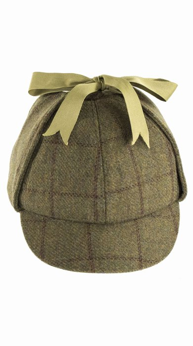 41e9919d1ea Denton Hats Sherlock Hat - Green Red Pattern