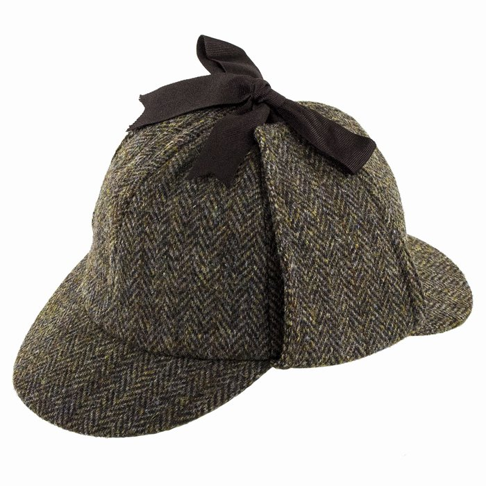 6df0b682923 Failsworth Hats Harris Tweed Sherlock Deerstalker