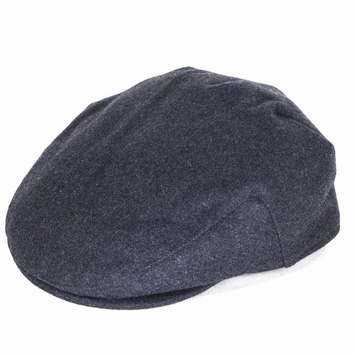 7020c6cfd Failsworth Hats Melton Wool Flat Cap - Grey | The Hat Place