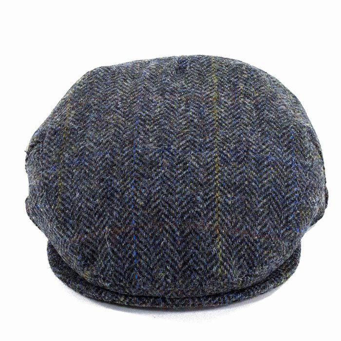 7b06380f898 Failsworth Hats Harris Tweed Cap - Blue