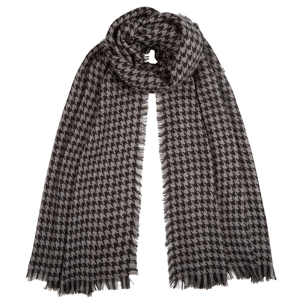 Men s Louis Houndstooth Scarf a1d7e16b4929
