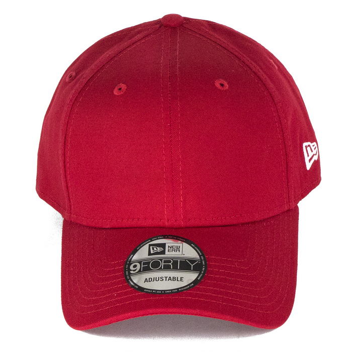 New Era Caps 9Forty Basic Baseball Cap - Red 660c071daa4e